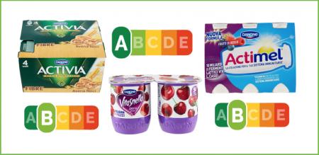 nutri-score-danone-activia-actimel-vitasnella-etichette-a-semaforo-450x219 - El Blog de la Obesidad